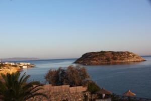Seelenruhige Abendstimmung in Mochlos auf Kreta...