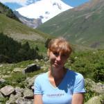 Reiseleiterin Natalia Papka