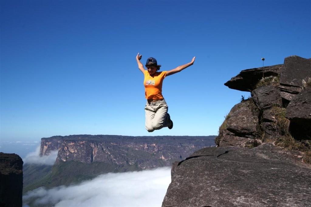 Ein 6-tägiges Trekking führt auf den Tafelberg (2800 m) und über die Wolken