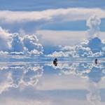 Höhepunkt beider Reisen: die surreale Salzwüste
