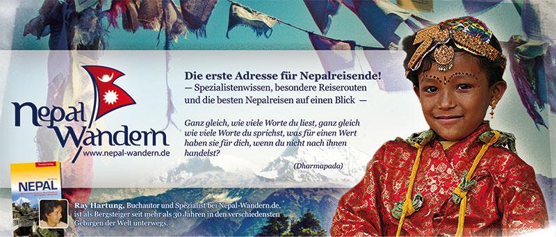 Jetzt online: www.nepal-wandern.de