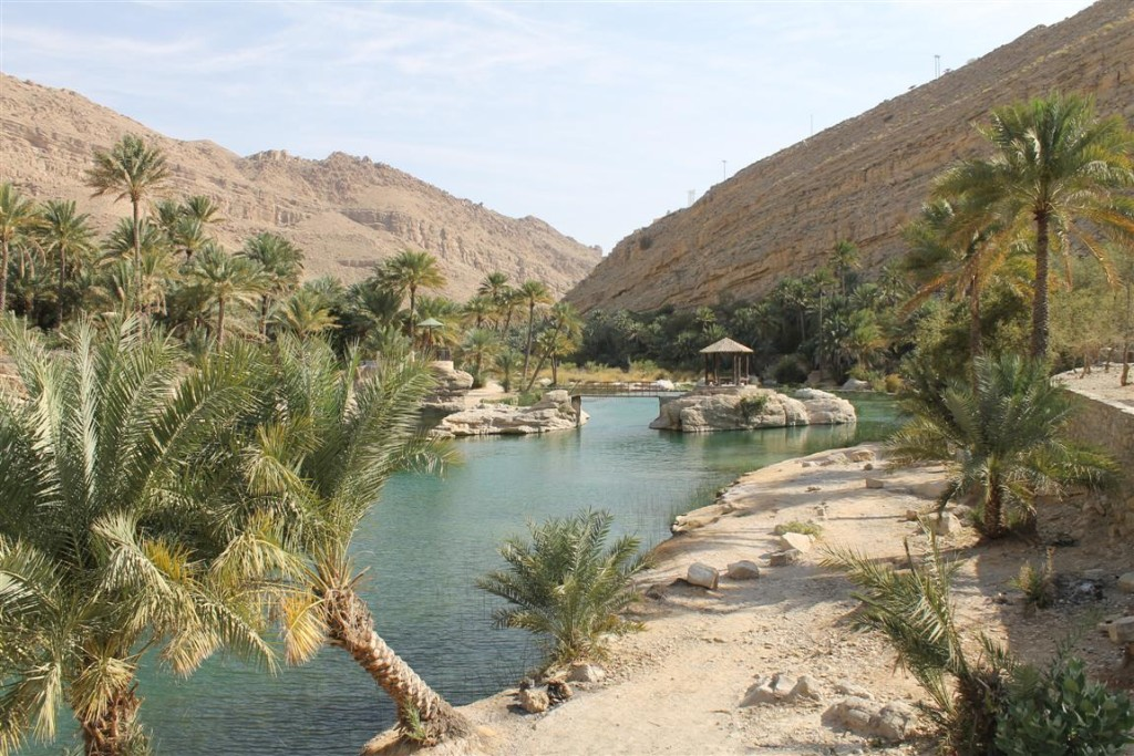 Wadi im Hajar-Gebirge