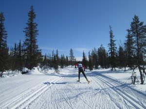 Perfekte Skibedingungen auch im April