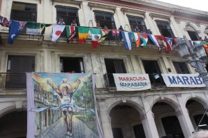 Alles steht am 16.11.14 im Zeichen des Marathons in Havanna