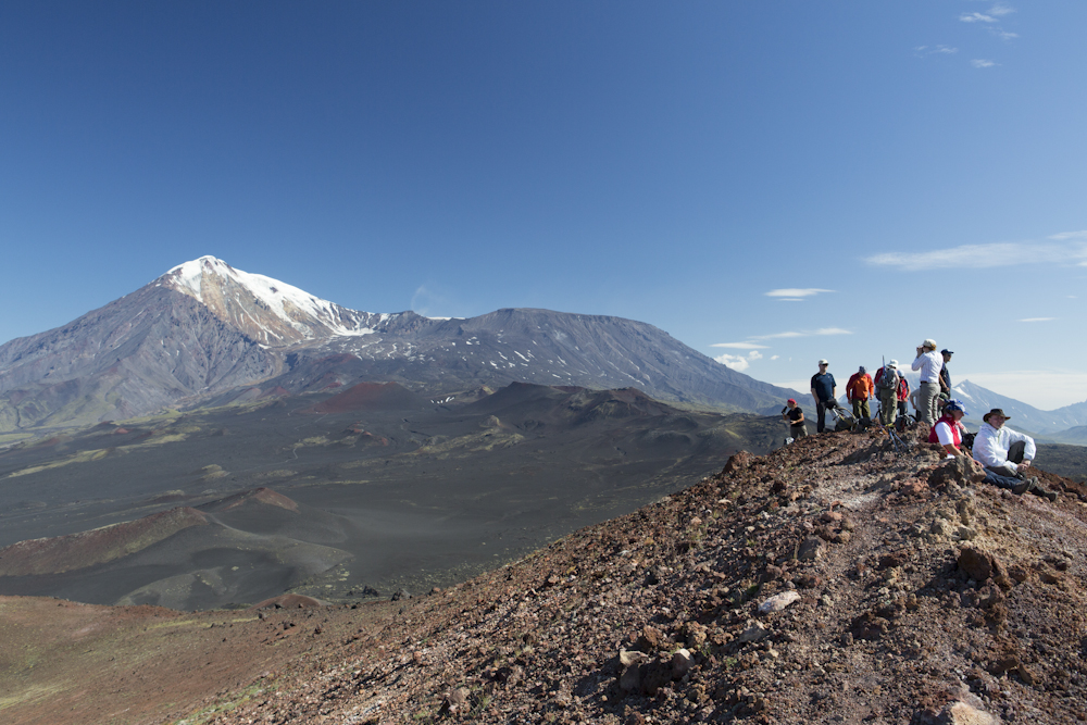 Vulkanbesteigung auf Kamtschatka