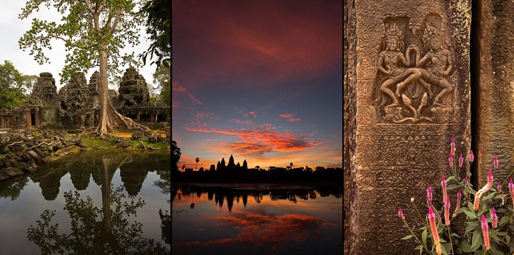 Angkor gehört heute zum UNESCO-Weltkulturerbe