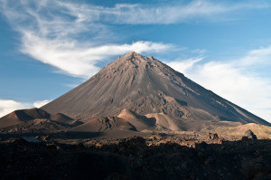 Der Pico do Fogo ist im vergangenen November ausgebrochen. Mittlerweile ist er wieder ruhig.