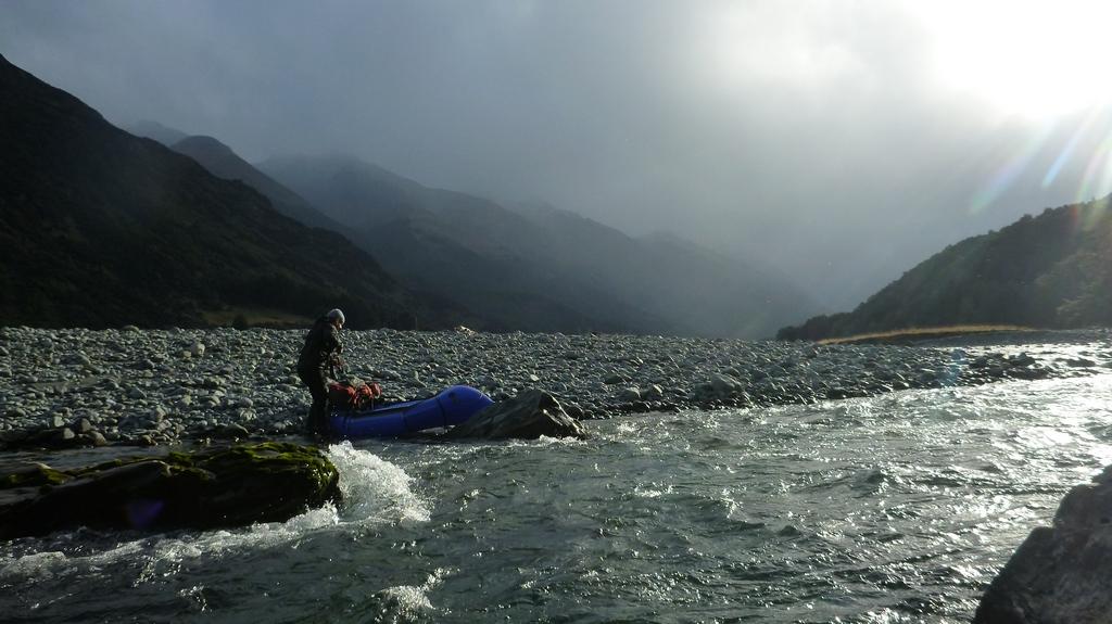 Abenteuer heißt auch, die Launen der Natur zu genießen und dafür mit magischen Momenten belohnt zu werden.