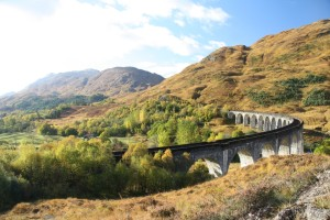 Glenfinnan-Viadukt in den Western Highlands