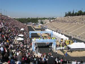 Zielort: das legendäre Panathinaiko Stadion