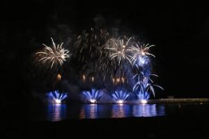 Feuerwerk zum Atlantik-Festival (Quelle: Direção Regional de Turismo da Madeira)