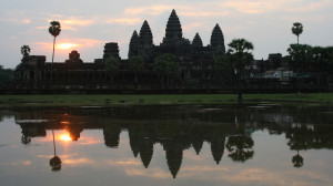 Absolutes Highlight: Sonnenaufgang in Angkor Wat