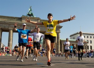 Zielgerade beim Brandenburger Tor, copyright PHOTORUN SCC EVENTS