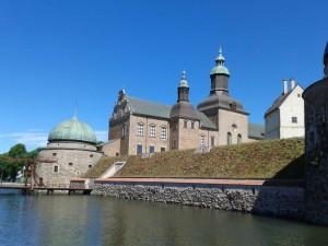 Sehenswert: Die schwedische Renaissanceburg Schloss Vadstena aus dem 16.Jahrhundert.