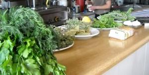 Kretische Kräuterküche