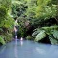 Ein Bad im Wasserfall von Ribeira Grande erfrischt nach einer erlebnisreichen Wanderung