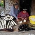 Besuch in einer kleinen Dorfbäckerei