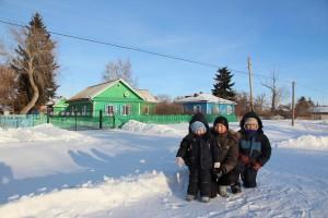 "Winter in ""Blumenfeld"" nahe Omsk"