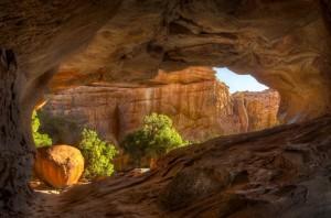 Entdeckung auf der Wanderung in den Zederbergen: In vielen Höhlen finden sich noch Felszeichnungen der San.