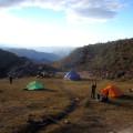Camp im Torotoro-Nationalpark