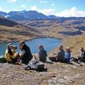 Die ganze Gruppe am Pico Tunari (5035 m) - Gratulation!