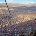Im Gruppenfahrzeug nach La Paz