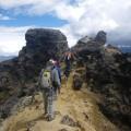 Am Gipfel des nicht mehr aktiven Vulkans Ruminahui (4634 m)