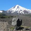 Wandern am Vulkan Llaima, einem der aktivsten im Seengebiet Chiles
