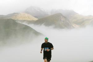 Lauf-Erlebnis im Großen Kaukasus