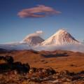 Auf Kamtschatka befinden sich 29 aktive Vulkane, hier der höchste Eurasiens: Kljuchewskaja Sopka (4750 m)
