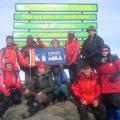 Tansania Kilimanjaro zu Neujahr