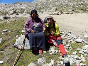 Unterwegs auf der Kailash-Kora gemeinsam mit Tibetern und Pilgern