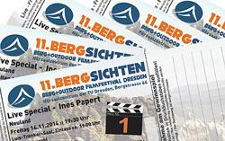 Bergsichten 2014 - Online-VVK läuft!
