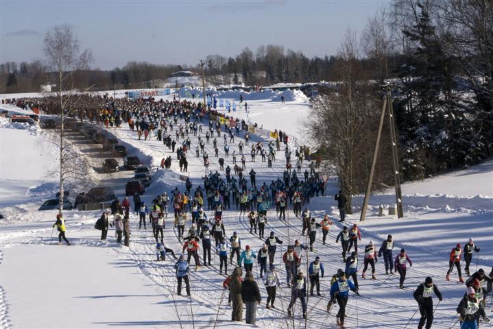 Die 63 km führen von Otepää nach Elva