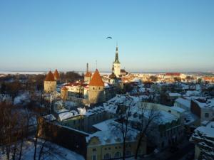 """Tallinn wird auch """"Stadt der Türme"""" genannt."""