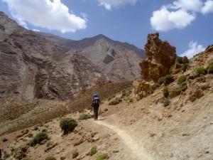 Mehrtägiges Trekking führt Sie die fantastische Gebirgswelt des Hohen Atlas'.
