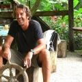 Peter Schnur, unterwegs in der Karibik.
