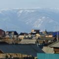 Im Dorf am Ufes des Baikals