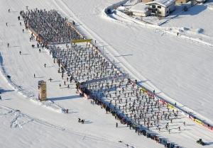 Skimarathons erfreuen sich immer größerer Beliebtheit.