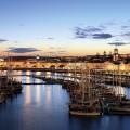 Der Hafen von Ponta Delgada, der lebhaftesten Stadt der Azoren