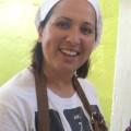 Fiorella, Ihre Gastgeberin auf der Masseria