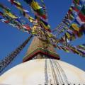 Der Bodnath Stupa.