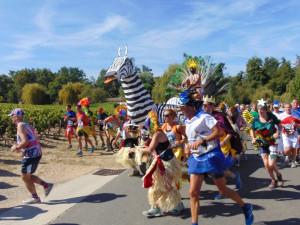 Médoc ... ein Läuferkarneval
