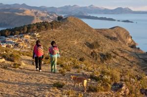 Wanderung auf der Isla del Sol (Sonneninsel) im Titicacasee