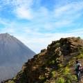 Spektakulärer Blick von der Bordeira auf den Pico do Fogo.