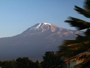 Kilimanjaro und Mt. Meru ...