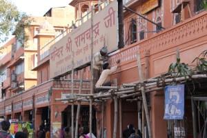Der Erhalt des pinken Rufes Jaipurs ist natürlich gesetzlich geregelt