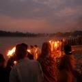 Abendstimmung am Ganges