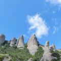 Felsformationen im Montserrat-Gebirge