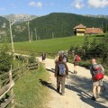 Wandern in der Landschaft Siebenbürgens